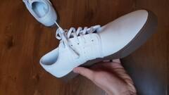 Adidas Seeley white/gold met/gum