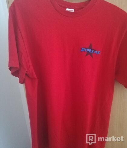 Supreme Money Power respect Red size: L