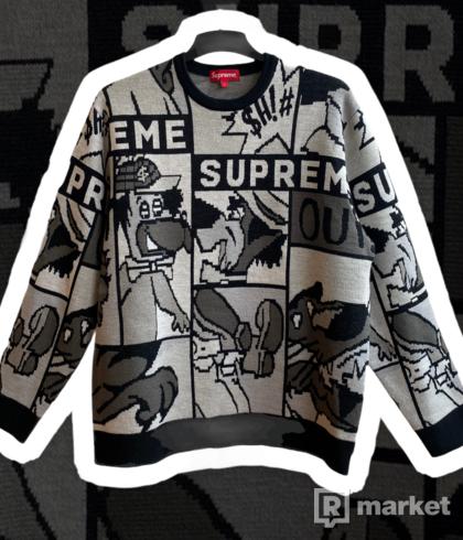 Supreme Cartoon Sweatshirt