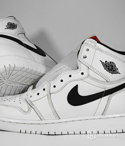 "Air Jordan Retro 1 High OG ""Yin Yang"" White GS"