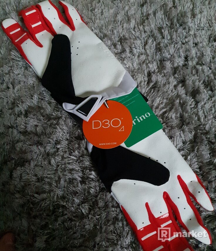 Supreme Honda Fox  Racing Red Glove
