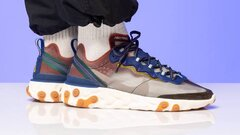 Nike react element 87 dusty peach