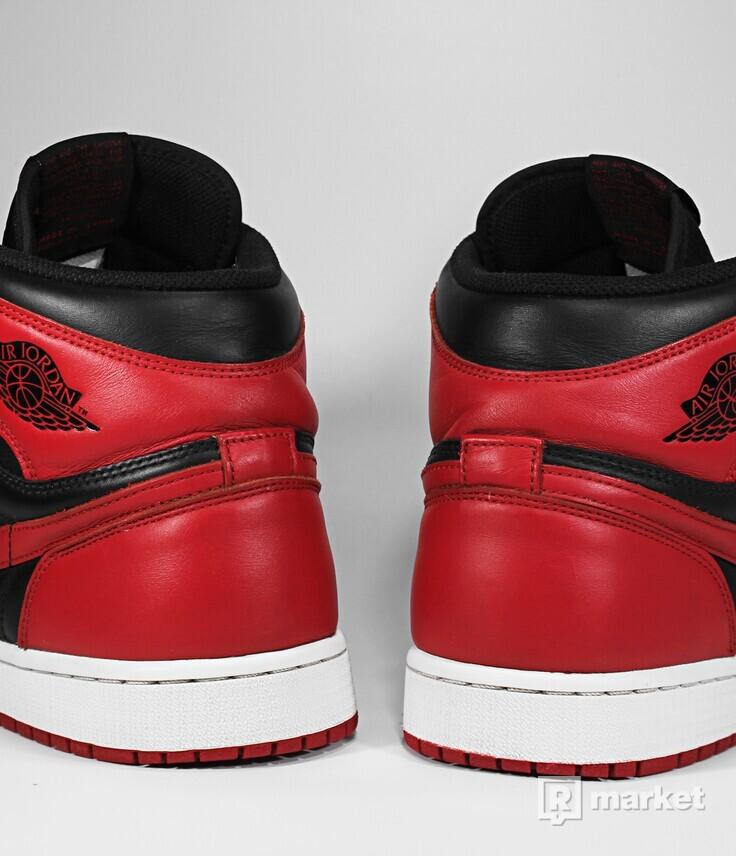 """Air Jordan Retro 1 High OG """"Bred"""" 2013"""