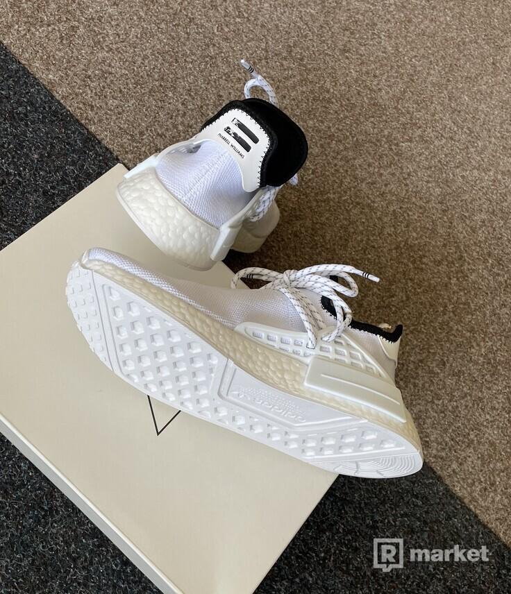 Adidas Human Race Extra Eye White