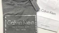 Calvin Klein tričko s krátkym rukávom (S)