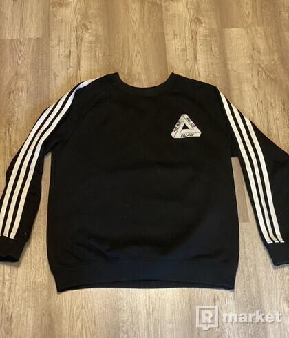 """Palace x Adidas Crewneck """"Black"""""""