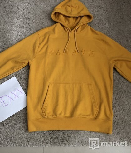 Palace Hoodie Gold / Yellow