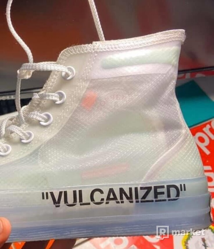 Converse x Off White Vulcanized