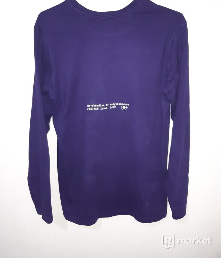 Dalybhahacrew longsleeve purple
