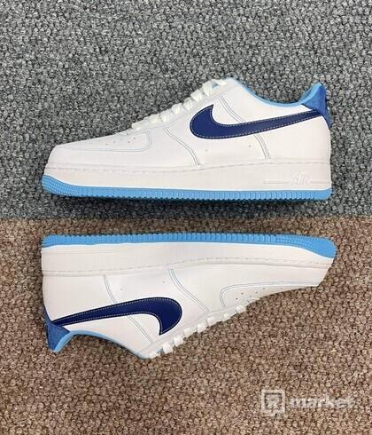 Nike Air Force 1  White University Blue