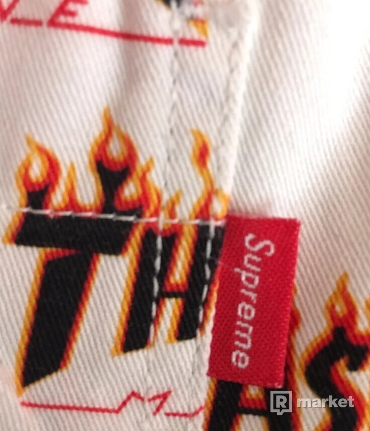 Supreme Thrasher Flame Shorts