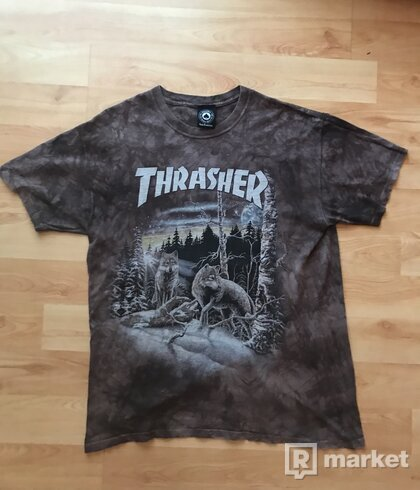RARE THRASHER X THE MOUNTAIN TEE