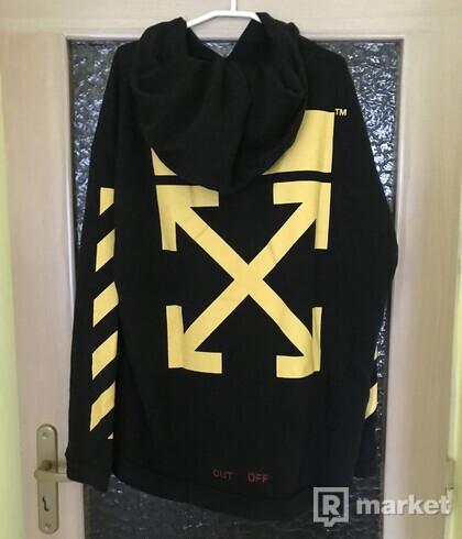Off white cross arrows hoodie