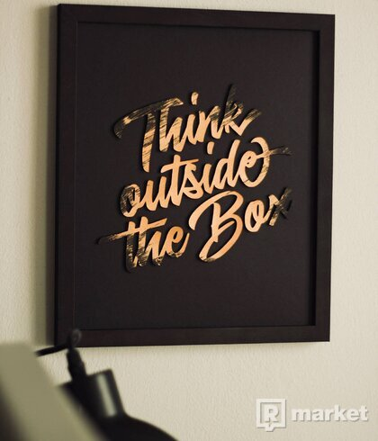 Obraz - Think outside the Box