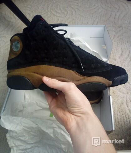 Nike air jordan 13 olive us 10,5