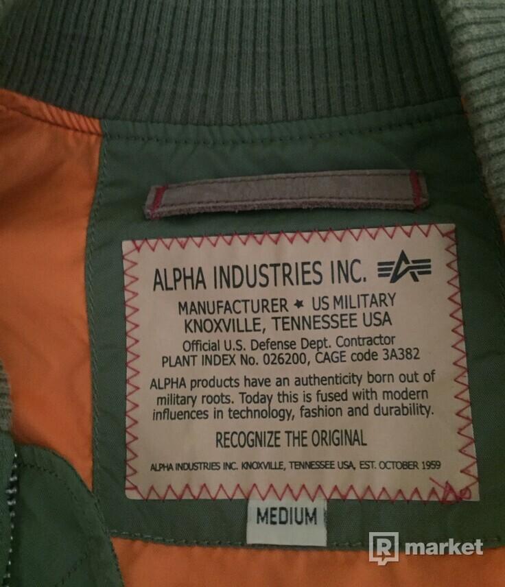 Bomber alpha industries