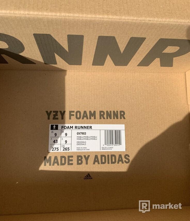 adidas Yeezy Foam RNNR Mineral Blue