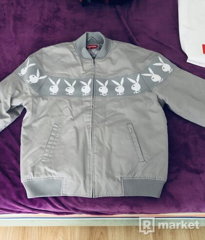 Supreme Playboy Crew jacket