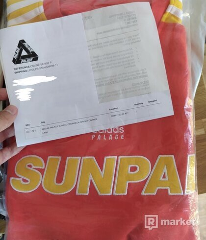 Adidas x Palace Sunpal Crew L