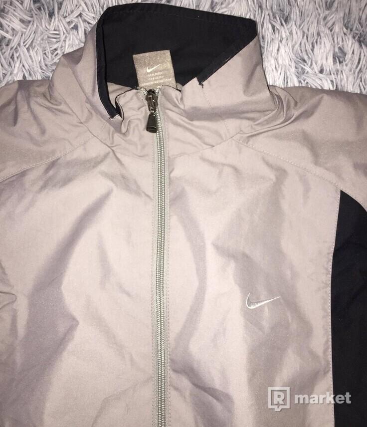 Gray Šušťaková Bunda Nike Size L