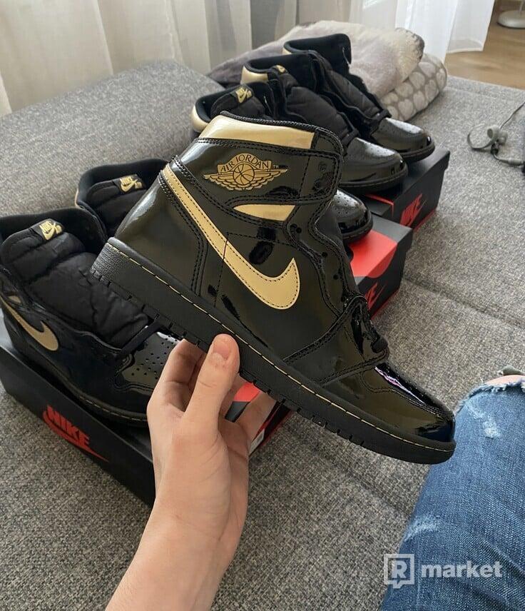 Jordan 1 Retro High Black Metallic Gold (2020)