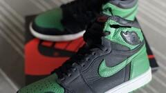 Nike Aj1 high pine green