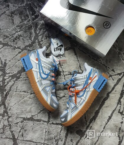 "Nike X Off White Rubber Dunk ""UNC"""