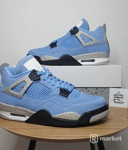 Air Jordan 4 Retro University Blue