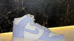 Nike Dunk High Sail Football Grey