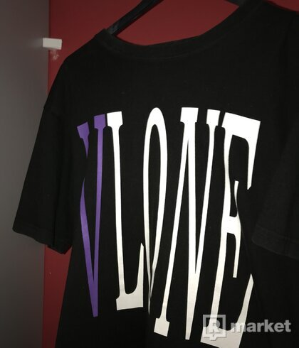 Vlone purple tee