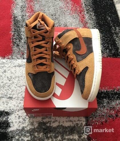 Nike Dunk High PRM Dark Russet