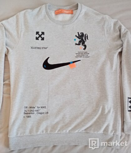 Nike Off-White Sweater Grey