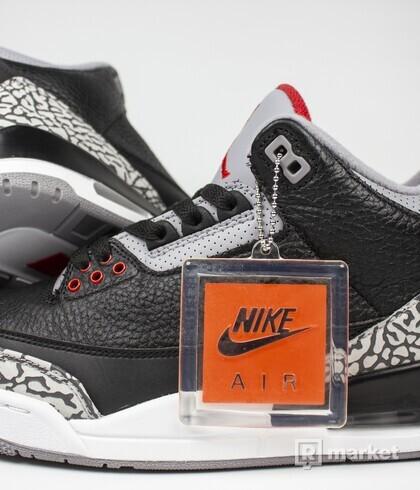 "Air Jordan Retro 3 OG ""Black Cement"""