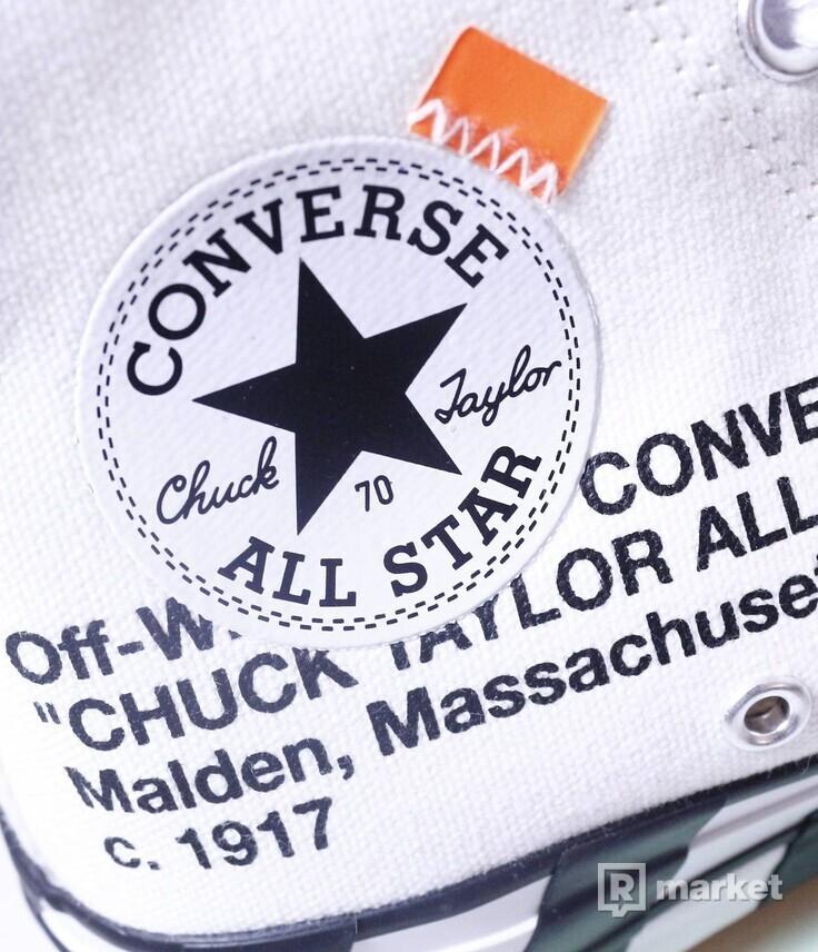 Converse x OFF WHITE 2.0