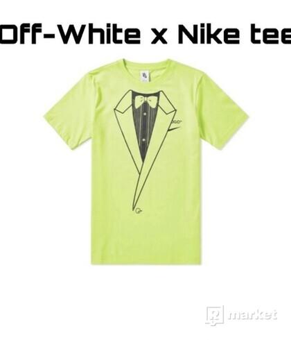 Off White x Nike tee