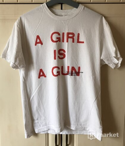 Pleasures a girl is a gun tee