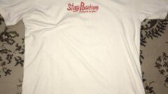 Supreme Stay Positive Tee Natural colorway