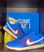 Nike Dunk low x Undefeated '5 On It/Dunk vs AF1' - Size US 11/EU45