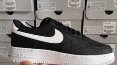 Nike Air Nike Air Force 1 black white-swoosh