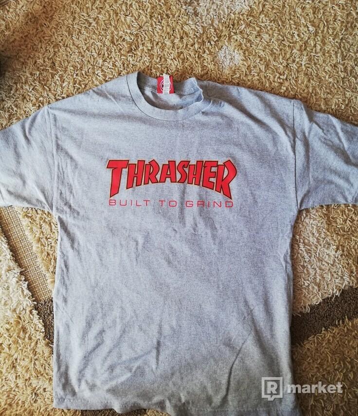 Thrasher Build To Grind Tričko