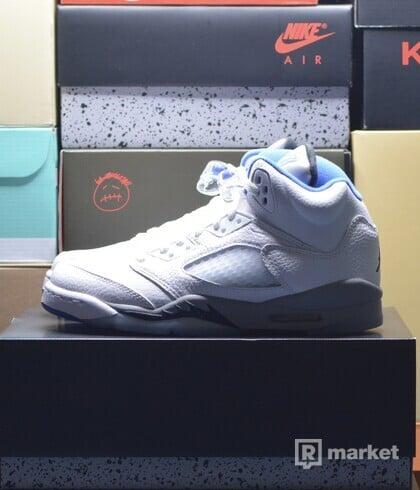 "Jordan 5 ""White Stealth"" GS"
