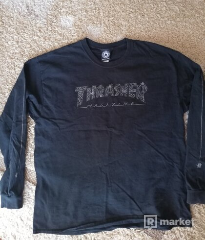 Thrasher Long Web Spider Tee