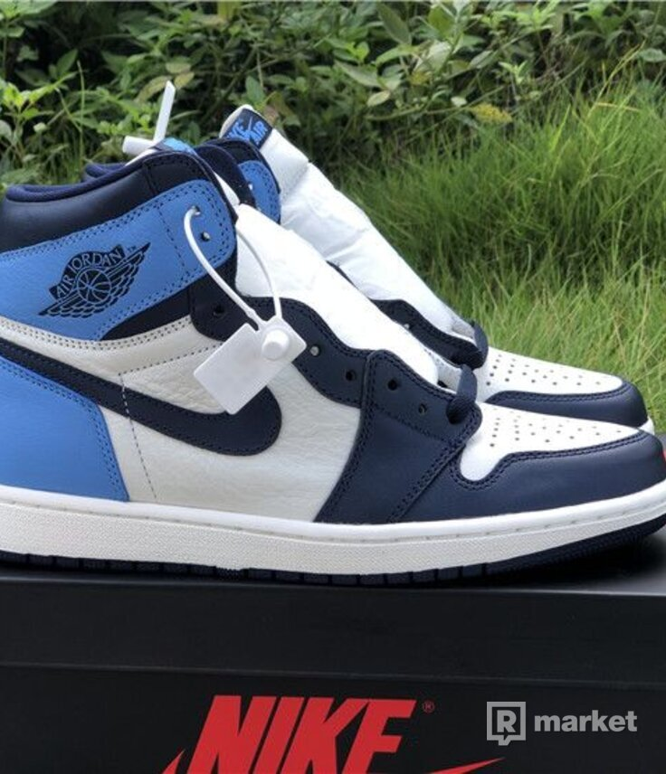 wtb/ air jordan 1 retro high obsidian
