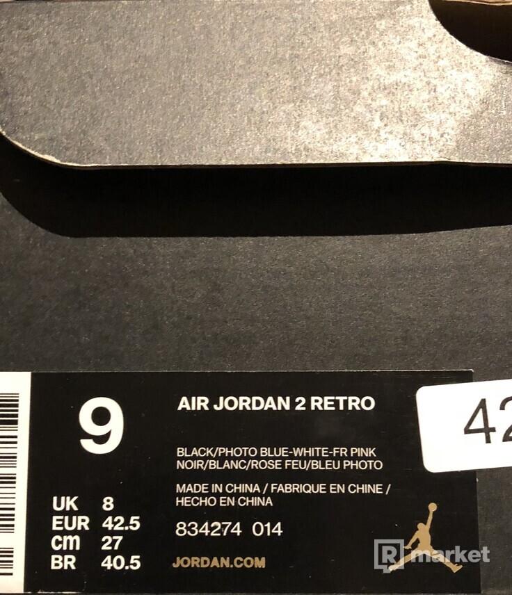 Air Jordan 2 Radio Raheem