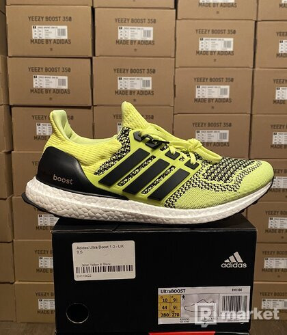 Adidas ultra boost OG solar yellow