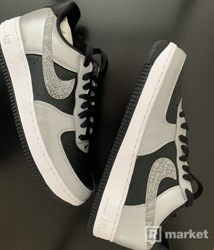 Nike Air Force 1 Low Silver Snake