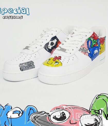 "Nike air force 1 ""doodles"""