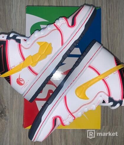 Nike SB Dunk High RX-0 Unicorn Gundam