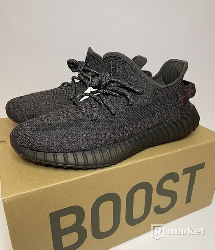 Adidas Yeezy Boost 350 V2 Static Black (Reflective)