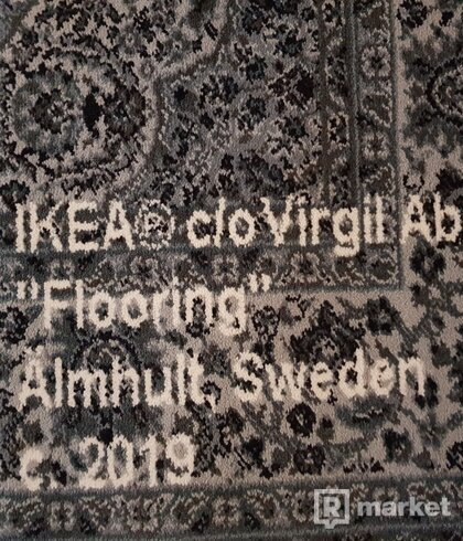 "IKEA X OFF WHITE ""KEEP OFF"" Koberec by Virgil Abloh"